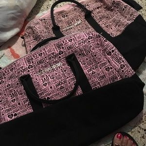 Victoria's Secrets 2 weekender Bag